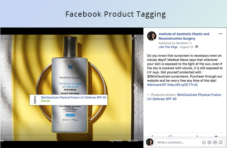 product tagging in social media posts