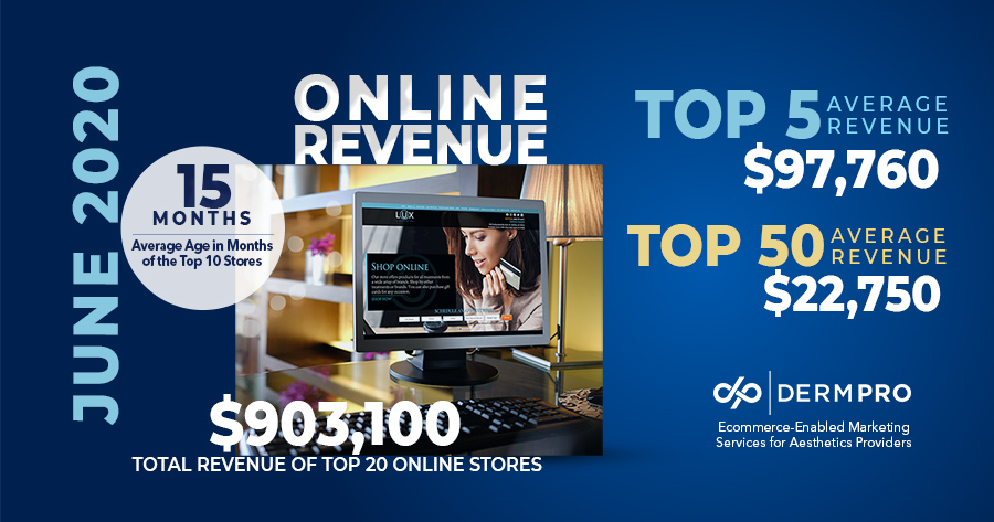 Aesthetics Practices Online Revenue Data